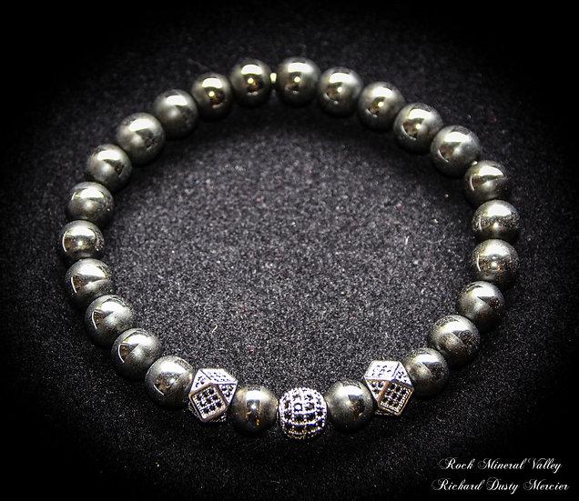 Bracelet Hématite homme femme