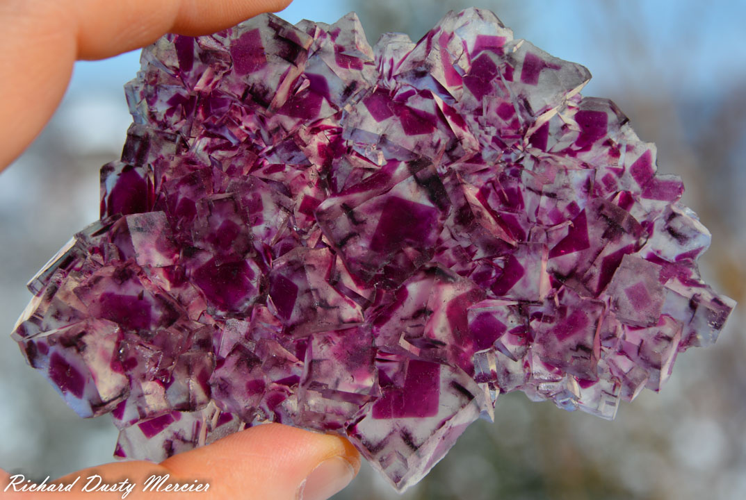 Fluorite from Okorusu