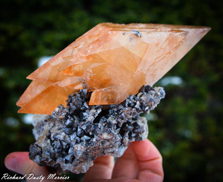 Calcite on Sphalerite USA