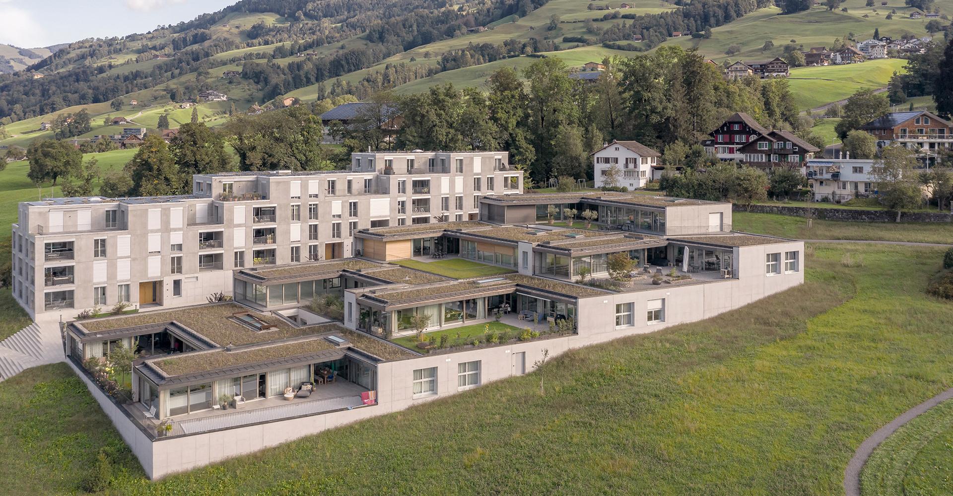 Wohnüberbauung Mättivor, Schwyz