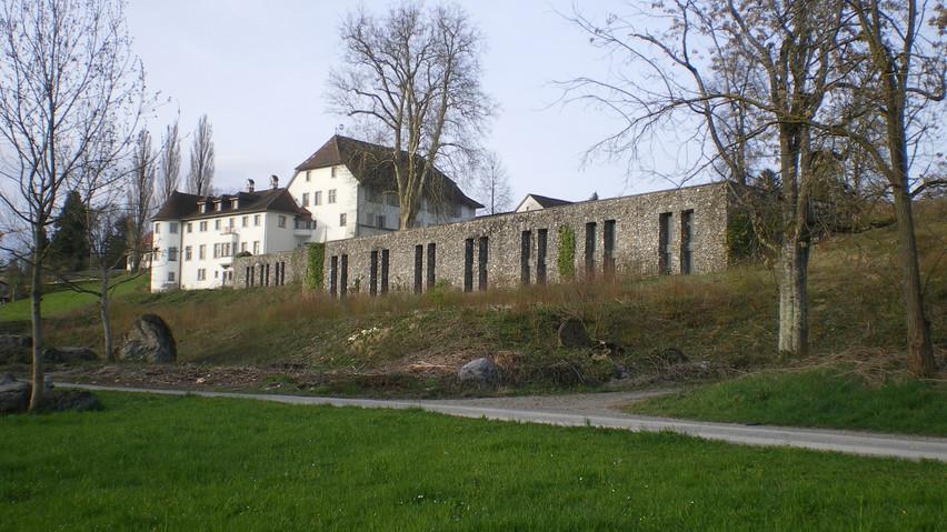 Kulturgüterdepot Brestenberg, Aussenansicht