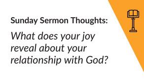 Sunday Sermon Thoughts