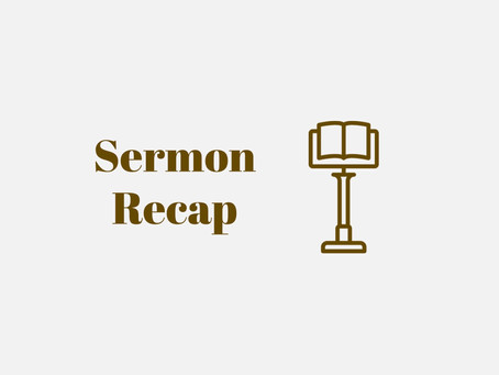 Sermon Recap: First Steps for Better Mental Health