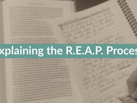 How to do R.E.A.P.