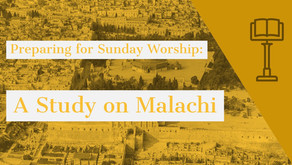Scripture and Discipleship Questions for Sunday Worship