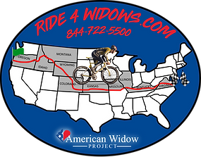Ride 4 Widows Fundraiser Logo