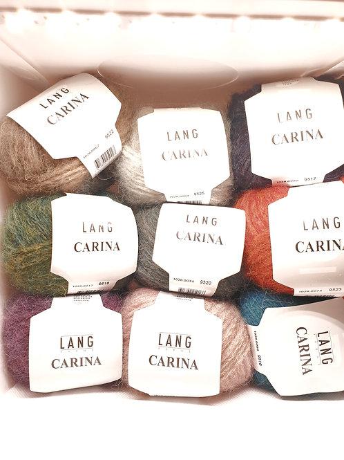 "Lang Yarns "" CARINA"" / 30 Grad Maschienenwaschbar / Alle verfügbaren Farben"