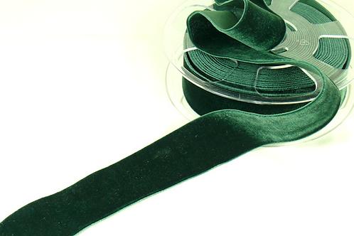 Samt-Stretchband  (36 mm) /  9,96€/m  / Verschiedene Farben