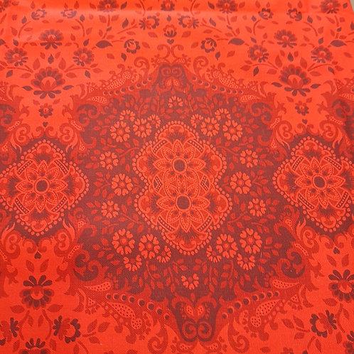 Vintage Baumwollstoff  /  Reststück Maße  86 x 160 cm