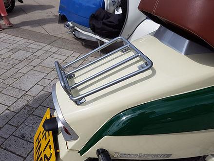 Lambretta LN rack premium silver