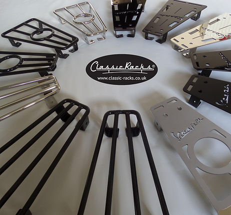 vespa PX floor board foot racks