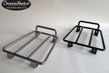 Lambretta LN racks Silver and black