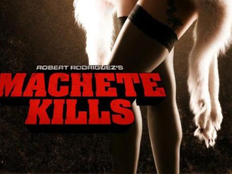 """O Filme """"Machete Kills"""" Em Risco"""