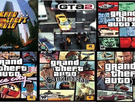 Sorteio do Pacote de Jogos de Grand Theft Auto (GTA)