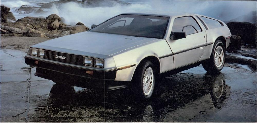 Delorean DMC-12 - Os carros mais desejados do Cinema!
