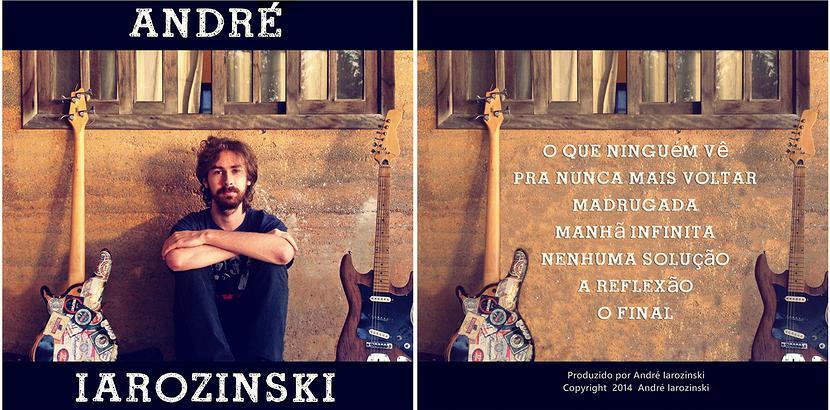 EP de André Iarozinski frente e verso