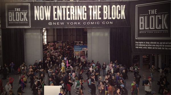 Comic Con at Javits Center NYC