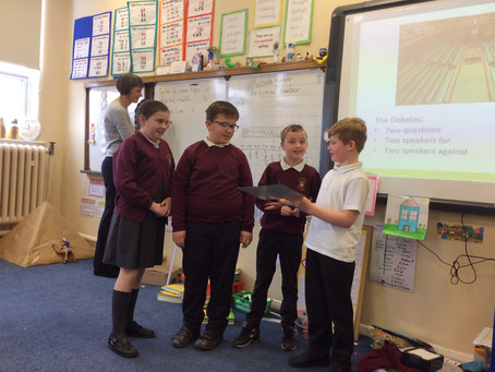 Year 4 Debate Workshop