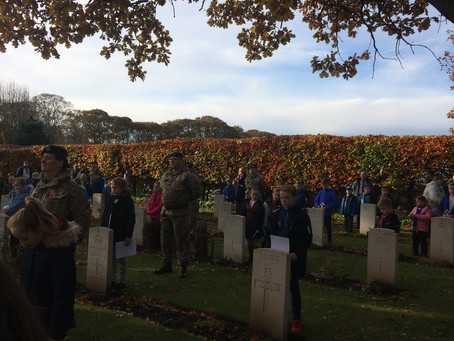Remembrance Service at Stranton