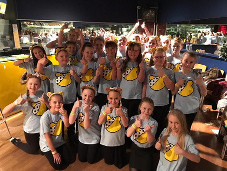 Choir Show Their True Colours for Children in Need