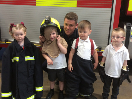 Nursery Fire Station Trip