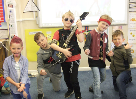 Times Table Rock Star Day