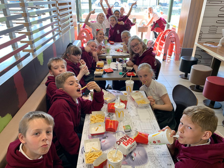 Year 6 Visit to Mc Donalds