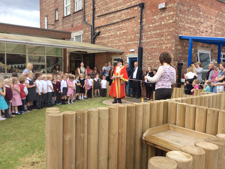 Official opening of the Nursery garden