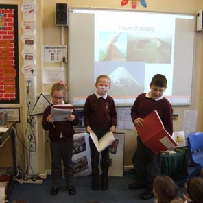 Volcanoes (Class 4 )