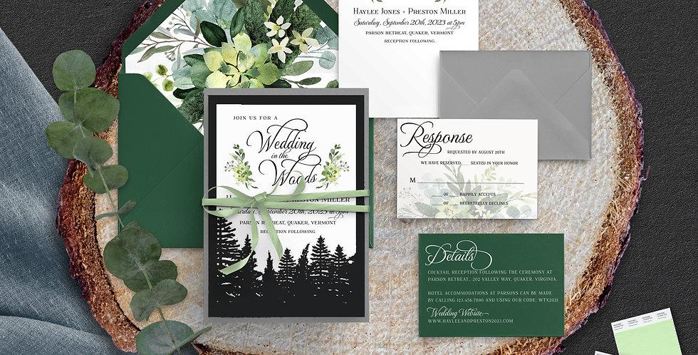 Wedding in the Woods, Haylee Suite