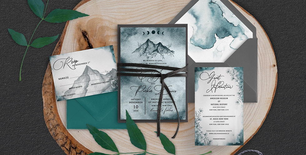Mountain Wedding, Carly Suite
