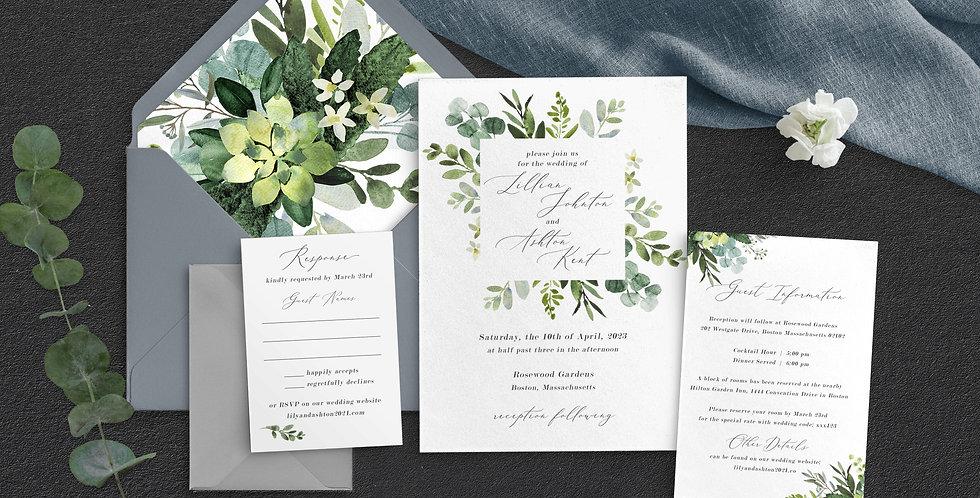Eucalyptus Wedding, Lilian Suite