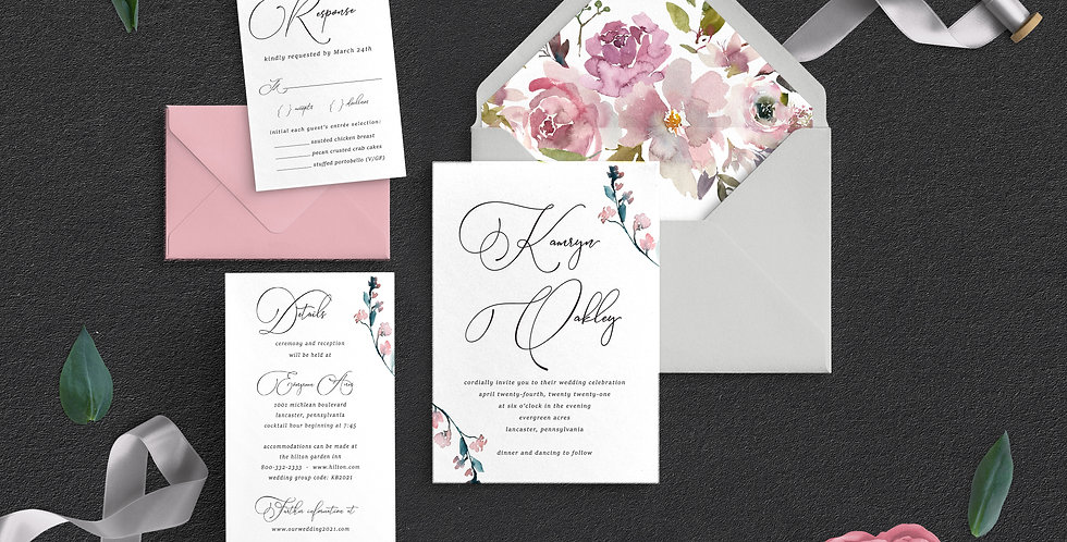 Romantic Florals, Kamryn Suite