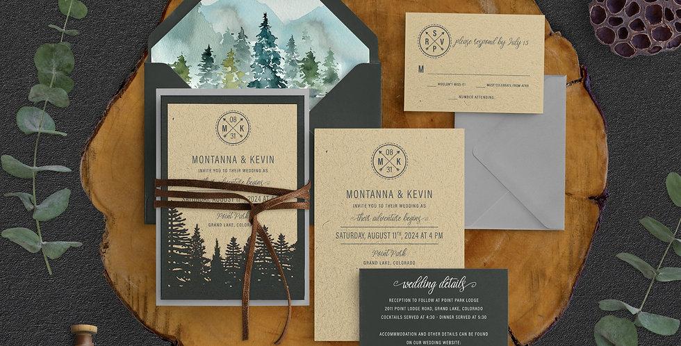 Forest Wedding, Montanna Suite