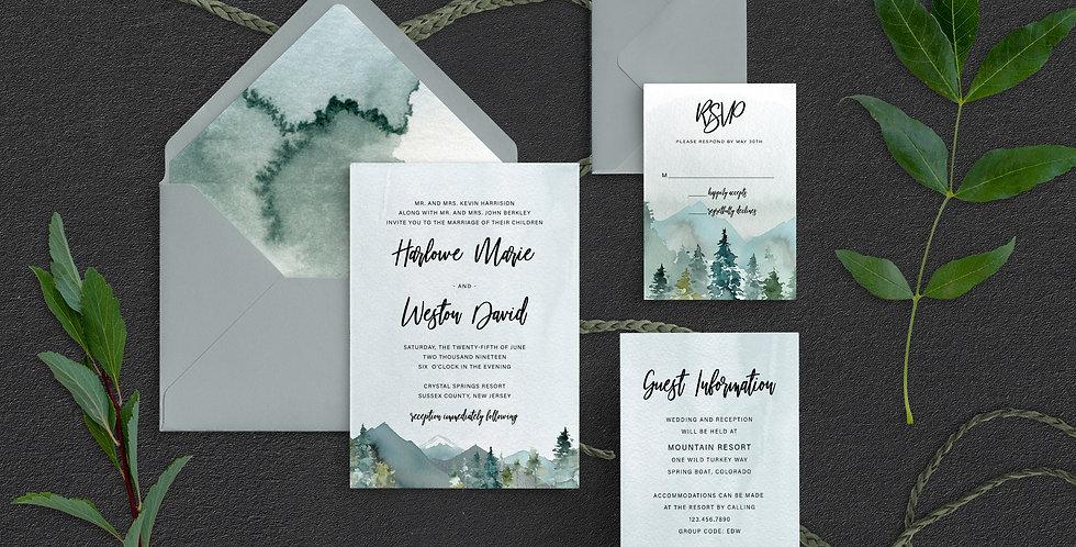 Mountain Wedding, Harlowe Suite