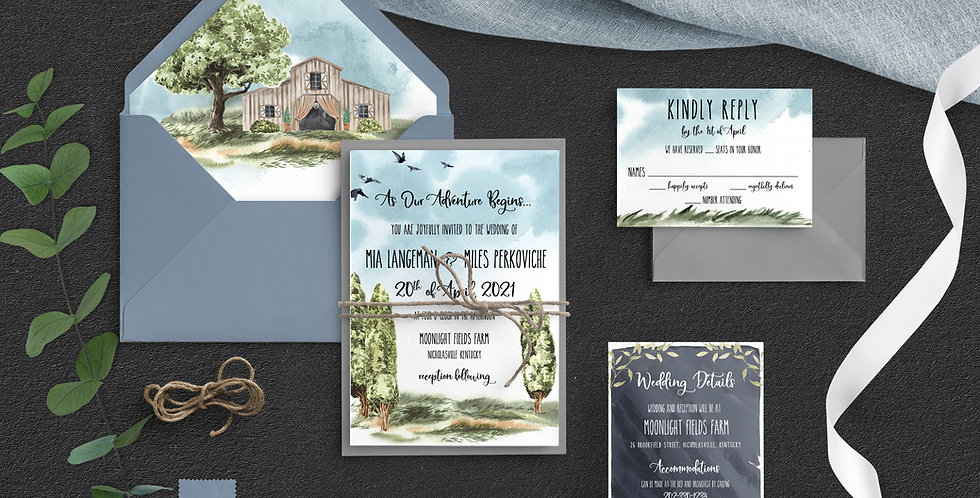 Rustic Wedding, Mia Suite