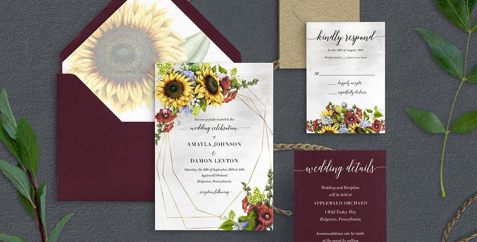Sunflower Wedding, Amalya Suite