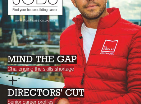 The Square front cover - Show House Jobs Magazine