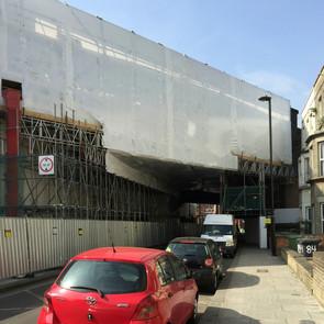 LM Blasting appointed Kilburn railway bridge restoration clean