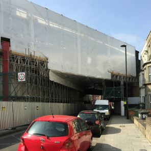 LM Blasting appointed Kilburn railway bridge restoration clean