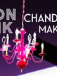 NEON PINK DIY CHANDLER MAKEOVER