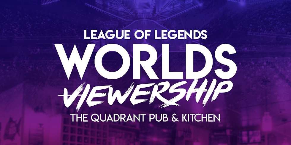 League of Legends World Finals Viewership Party - Free Entry