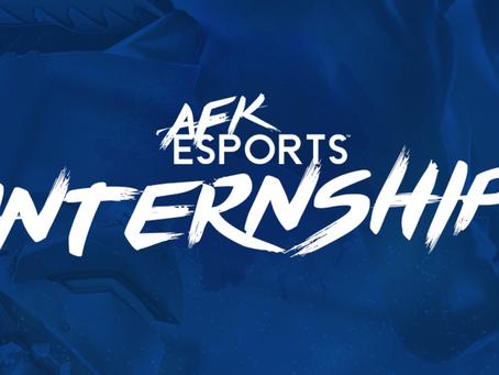 We're offering an internship!