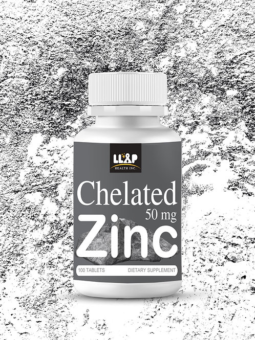 Chelated Zinc 50 mg. 100 Tablets