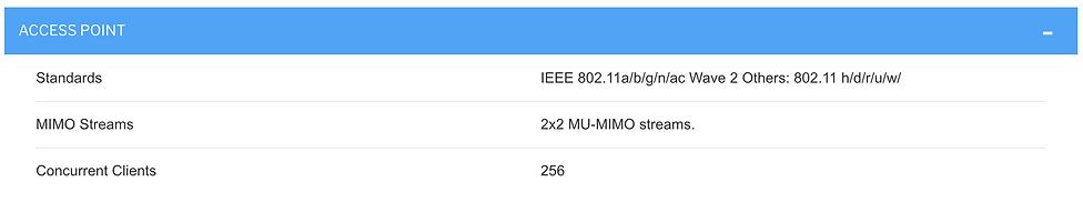 Thông số kĩ thuật cambium e430
