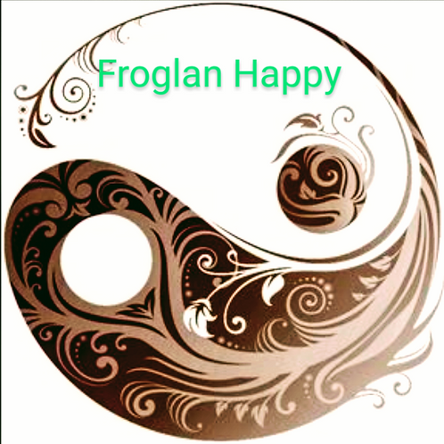 Decal Froglan Happy