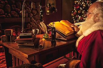 Santa at Froglans Christmas Village