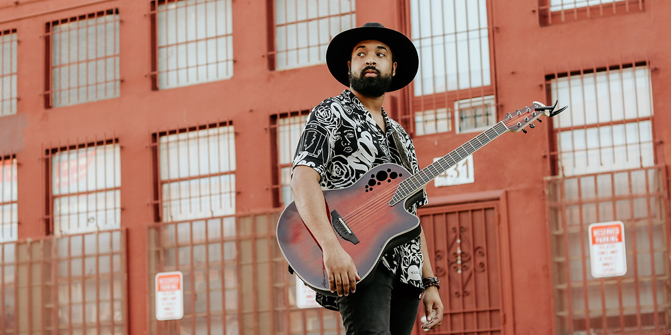 Live Music From: Nelson Cade III of The Voice (Acoustic Soul/Blues)