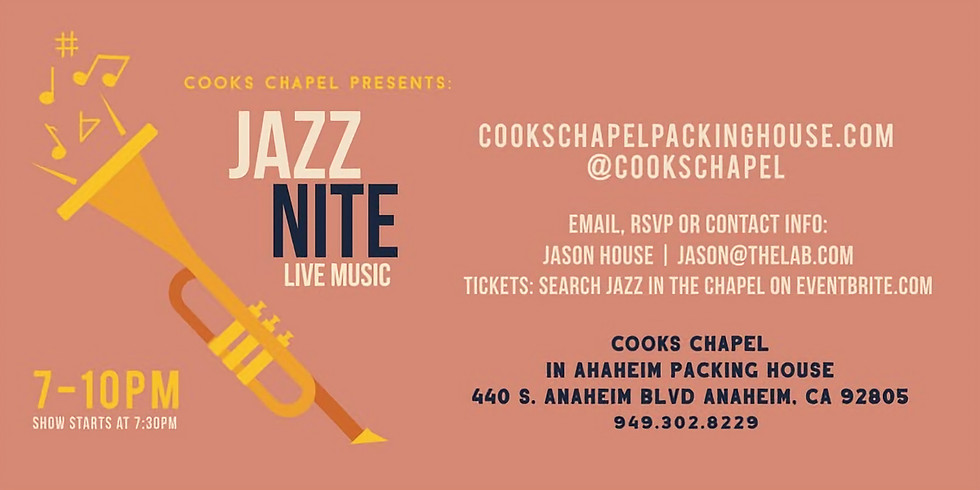 Jazz in the Chapel: Kevin Kanner Band