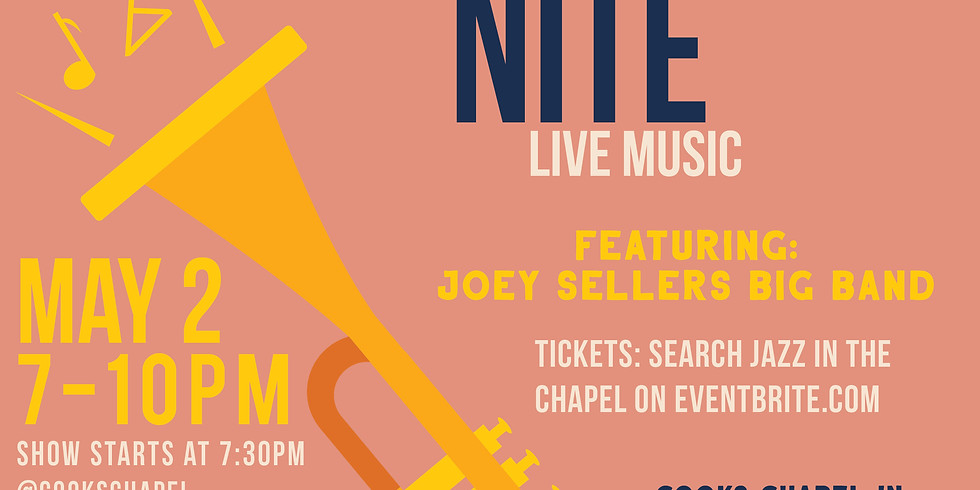 Jazz in the Chapel: Joey Sellers Big Band